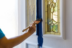3 Tips for Painting a Front Door To Increase Curb Appeal